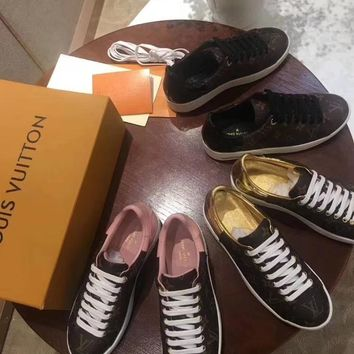 """LV"" Classic Casual Shoes"