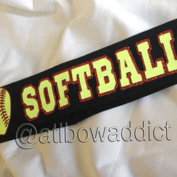 Custom Softball Headband
