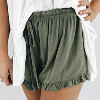 Grayton Casual Short - Olive