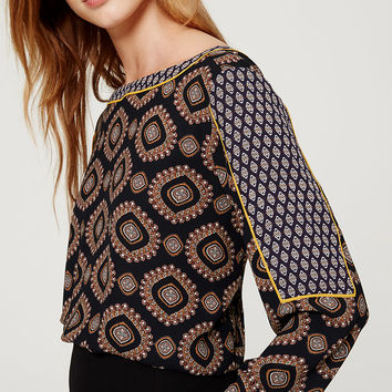 Medallion Blouse | LOFT