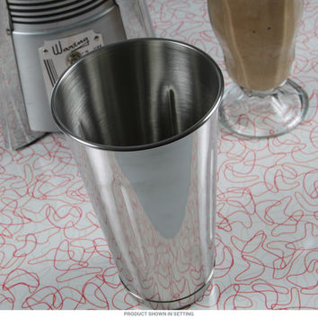 Ice Cream Parlor Steel Milkshake Cup 30 oz