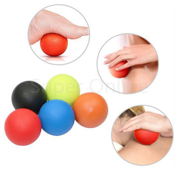Gym Fitness Massage Lacrosse Therapy Trigger Point Body Exercise Sports Yoga Ball Muscle Relax Relieve Fatigue Roller