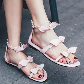 Butterfly knot Casual Sandals