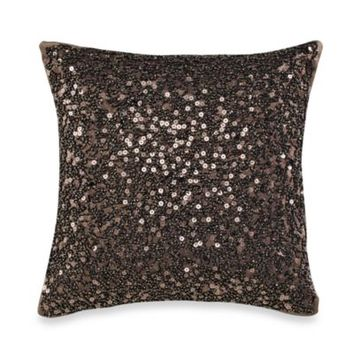 Palais Royale Droplets 12-Inch Square Toss Pillow