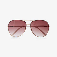 Oversized Color Armband Aviators from EXPRESS
