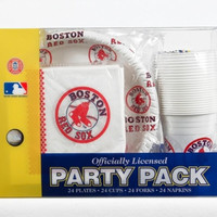 Boston Red Sox Party Pack