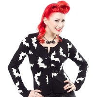 SOURPUSS BATTY CARDIGAN