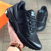 NIKE AIR MAX air cushion decompression and shockproof sports shoes for men and women F-AA-SDDSL-KHZHXMKH black