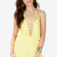 Caitlyn Cage Romper