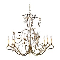 ethanallen.com - nine light arcadia chandelier | ethan allen | furniture | interior design