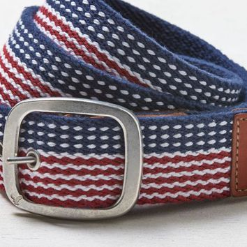 AEO 's Patterned Belt (Red)