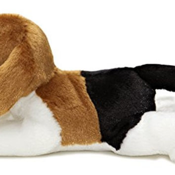 "Aurora Plush Homer Beagle Mini Flopsie 8"" by Aurora"