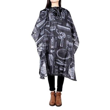 Docooler Professional Hair Styling Cape Haircuting Nylon Gown Hair Salon Equipment (Type 1)