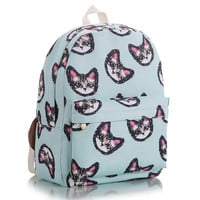 Cute cartoon cat backpack