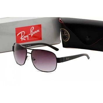 Ray Ban Trending Stylish Women Men Summer Sun Shades Eyeglasses Glasses Sunglasses Purple+Black Frame I-ANMYJ-BCYJ