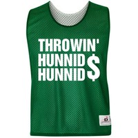 Throwin' Hunnids LAX Top: Custom Unisex Badger Sport Lacrosse Reversible Pinnie - Customized Girl