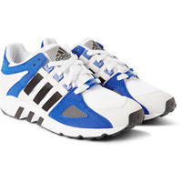 adidas Originals - Equipment Running Guidance 93 Faux-Suede and Mesh Sneakers | MR PORTER