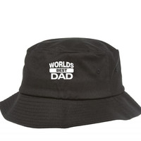 worlds best dad 5 Bucket Hat
