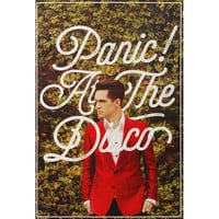 Panic! At The Disco Domestic Poster