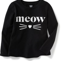 Long-Sleeve Graphic Tee for Toddler | Old Navy
