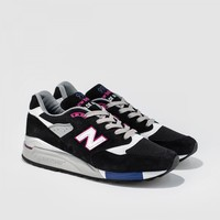 New Balance - M998BK (Black | White)