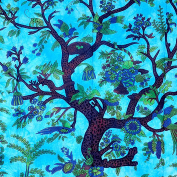 Tree of Life Tapestry, Indian Hippie Wall Hanging , Bohemian Wall Hanging, Bedspread Beach Coverlet throw Decor Beach blanket