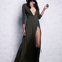 Free People Womens Disco Moon Maxi