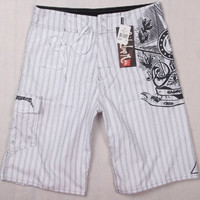 Embroidery Beach Pants Shorts [10292486087]