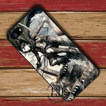 Cool Attack on Titan   Levi case for HTC M7 M8 M9 M10 Sony Z3 Z4 Z5 mini LG G4 G5 G6 Xiaomi Mi3 Mi4 Mi5 Redmi note 2 3 4 4X AT_90_11