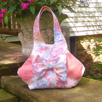 Fabric Bow Purse