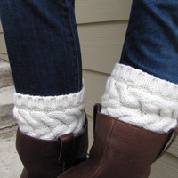 Boot CuffFull boot Sock sock Included TopperBoot by sugarbshop