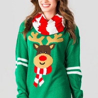 Reindeer Sweater Set