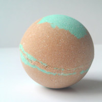 Bath Bomb Mint Chocolate Mega Size, All Natural Bath Bombs, Essential Oils, Gift Ideas, Gifts For Her