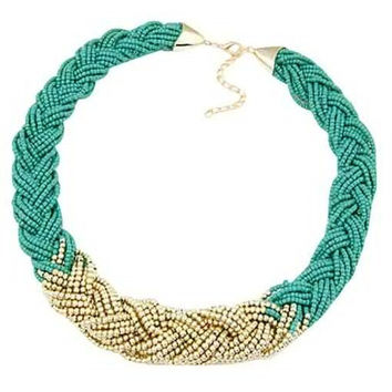 Twisted Beads Necklace