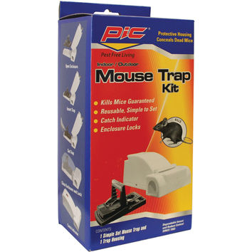 PIC MTK Housing Mouse Trap Kit