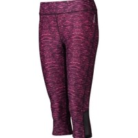 Reebok Women's Printed Compression Capris