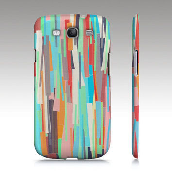 Galaxy S3 case, colorful abstract painting, modern art for your phone