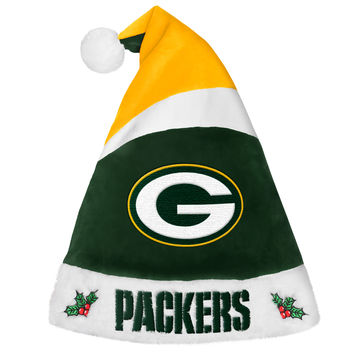 Green Bay Packers Basic Santa Hat - 2016
