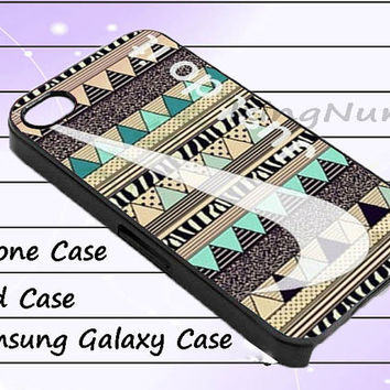 just do it aztec iphone 4/4S, iPhone 5/5S/5C, Samsung Galaxy S3/S4, iPod Touch 4/5, htc Case
