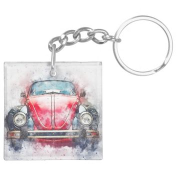 Volkswagen Bug Key Chain