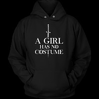 Halloween - A girl has no costume - Unisex Hoodie T shirt - TL00697HO