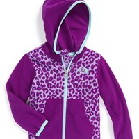 The North Face Infant Girl's 'Glacier' Full Zip Hoodie