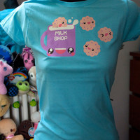 Kawaii Milk and Cookies t-shirt