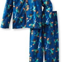 Komar Kids Little Boys' Pow Perry Long Sleeve Disney 2 Piece Pajama Set