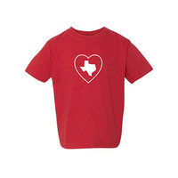 Heart Texas Shirt, Love Texas