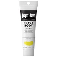 Liquitex Professional Heavy Body Acrylic Paint 2-oz tube, Yellow Medium Azo