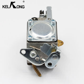 KELKONG Hot Chainsaw Carburetor Carb Repair Replacement Auto Engine Part Carbohydrate Compatible For HUSQVARNA 136 137 141 142