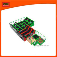 Source Jump kids indoor gymnastic trampoline bed with good quality on m.alibaba.com