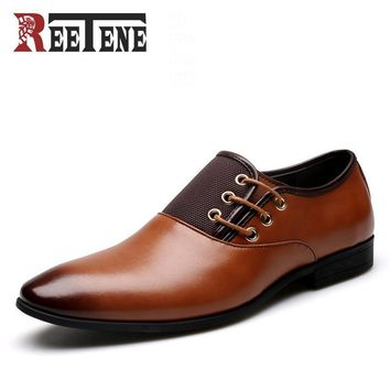 Oxford Reetene Leather Dress Shoes