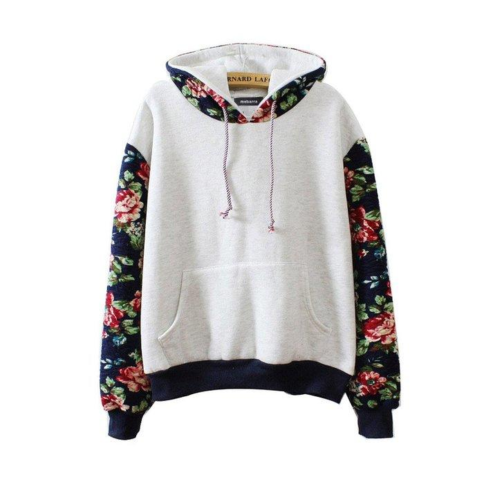 Alion Mens Hipster Pullover Sweatshirt Long Sleeve Thicken Warm Hooded Shirt